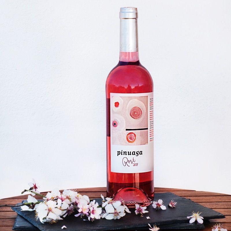 Pinuaga Rose, beber vino rosado